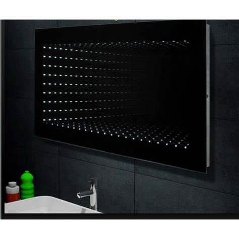 miroir de salle de bains avec 233 clairage led 120x60cm