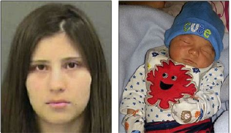 Teen Mom Beats Her Day Old Son Death Because She