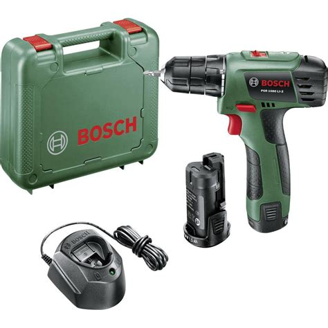 bosch psr 10 8 li bosch home and garden psr 1080 li 2 cordless drill 10 8 v 1 5 ah li ion incl spare battery