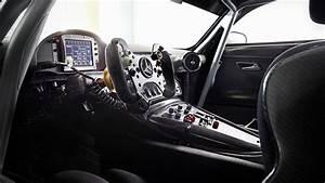 Wallpaper Mercedes AMG GT3, hypercar, coupe, interior