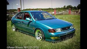1996 Hellaflush Nissan Sentra With Manual Swap  All Motor