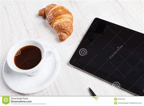 dejeuner bureau petit déjeuner de bureau photo libre de droits image