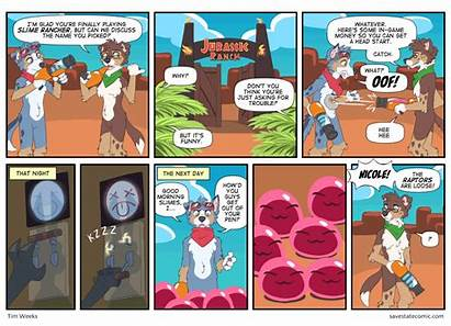 Rancher Comic Slime Jurassic Savestate Anything Ask