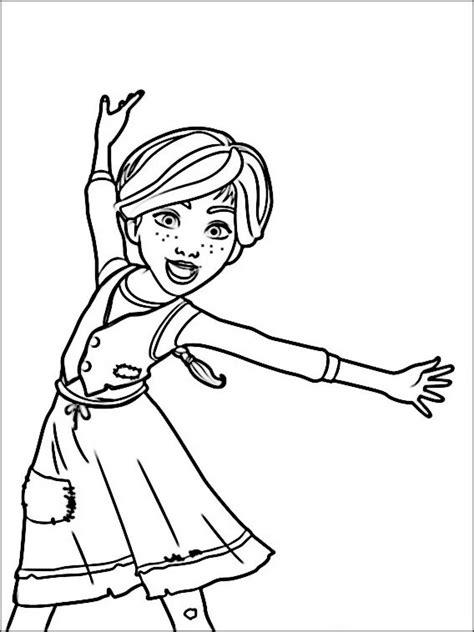 ausmalbilder ballerina fuer kinder