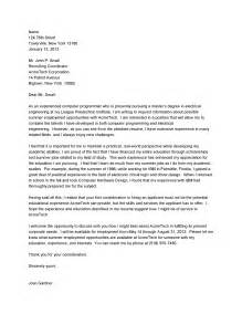Tips On Cover Letters 10 Sle Cover Letter For A Mechanical Engineer Writing Resume Sle
