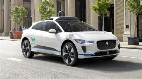Waymo And Jaguar Unveil A Self-driving, Electric Suv