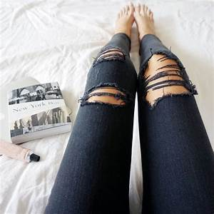 How to Make DIY Ripped Jeans | Clothes Dream closets and Wardrobes