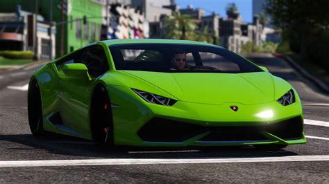 Gta V Lamborghini Huracán Mod
