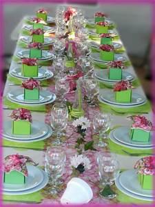 Décoration De Table Anniversaire : d co anniversaire theme jardin ~ Melissatoandfro.com Idées de Décoration