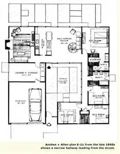 Surprisingly Atrium Home Plans by The Mystery Of The Eichler Atrium Page 3 Eichler Network