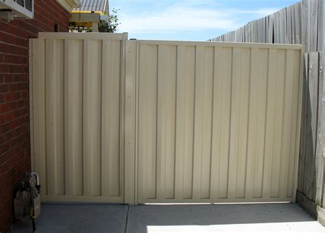 fence and gate prices colorbond