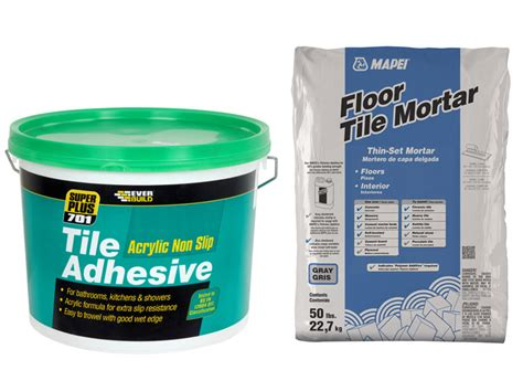 Wall Tile Adhesive Or Thinset by Tile Adhesive Vs Thinset Homeverity