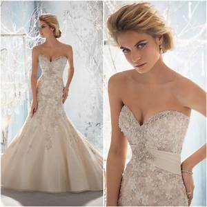 BEAUTIFUL WEDDING DRESS INSPIRATIONS Beaded Wedding