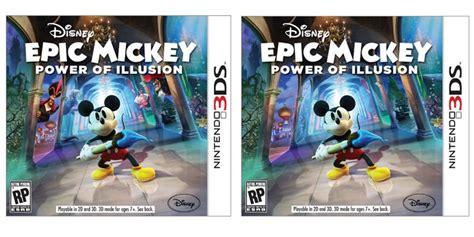 Disney Epic Mickey Power Of Illusion Game Giant Bomb