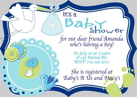 Printable Baby Boy Shower Invitations Template Printable Design Baby Boy Shower Invitations Printable Baby Boy