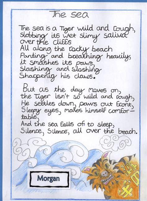 holy trinity pewley  school year  sea poems