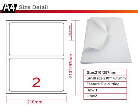 """Shipping Labels 2 Half Sheets Letter Size 512"""" X 812"""