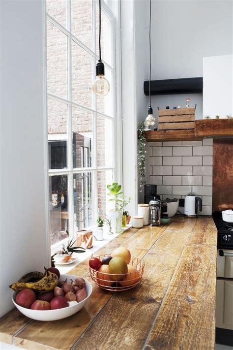 Holzplatte In Der Küche by Arbeitsplatte Aus Holz In Der K 252 Che Unser Haus