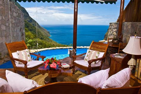 Ladera Resort St Lucia Clinging To A Hillside