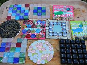 Hometalk Garden Mosaics From Recycled Materials