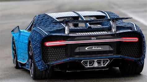 To build each customer's unique work of art. This life-size, drivable Lego Bugatti Chiron has 2,304 electric motors