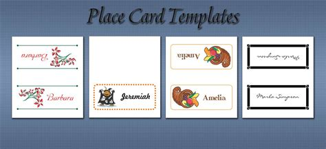 imprintable place cards template imprintable place cards template images template design ideas
