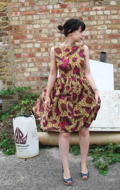 dress  african fabric sewing projects
