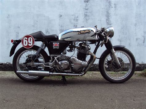 1 norton commando cafe racer hd wallpapers backgrounds