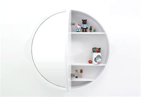 Runder Badezimmer Spiegelschrank by Badschrank Rund Icnib
