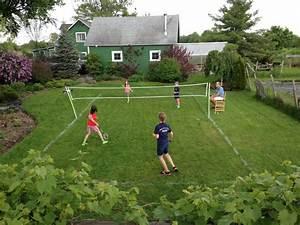 Badminton Court Farmhouse Landscape Burlington By