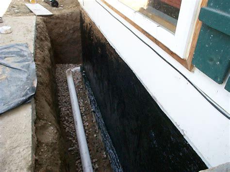 interior exterior foundation drains hd renovations