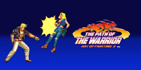 path   warrior art  fighting  neogeo games nintendo