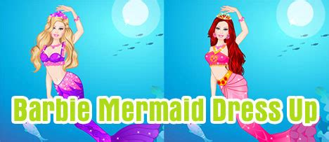 barbie mermaid dress  game vui
