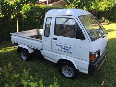 Hijet Mini Truck by Daihatsu Hijet Mini Truck 1988 Government Vehicle For
