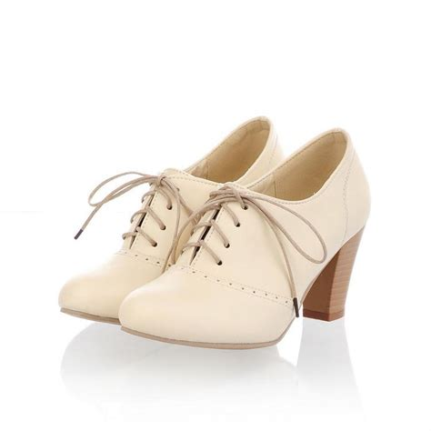 oxfords with heels