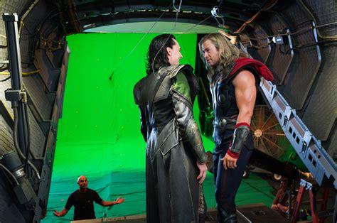 The Avengers Set Visit Collider