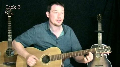 How To Play Acoustic Finger Style Delta Blues