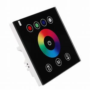 Led Touch Dimmer : rgbw rgb led touch panel controller led dimmer for dc12 24v led strip lights ebay ~ Frokenaadalensverden.com Haus und Dekorationen