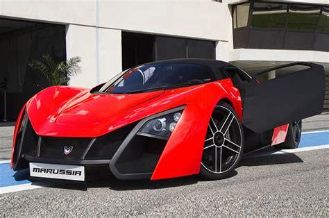 marussia  sports car spy shots
