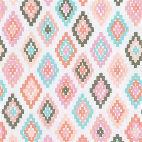 disney crib bedding pastel tribal fabric by the yard pink fabric carousel