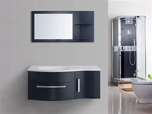 ensemble de salle de bain naiade meuble de salle de bain With meuble miroir salle de bain pas cher