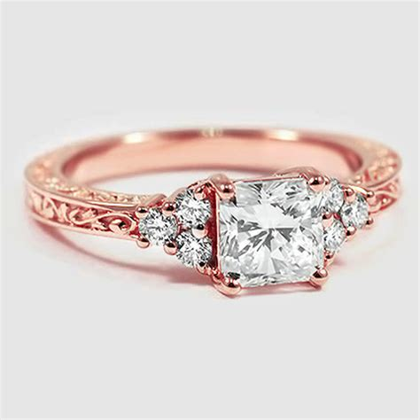 vintage ring scroll setting brilliant earth engagement rings