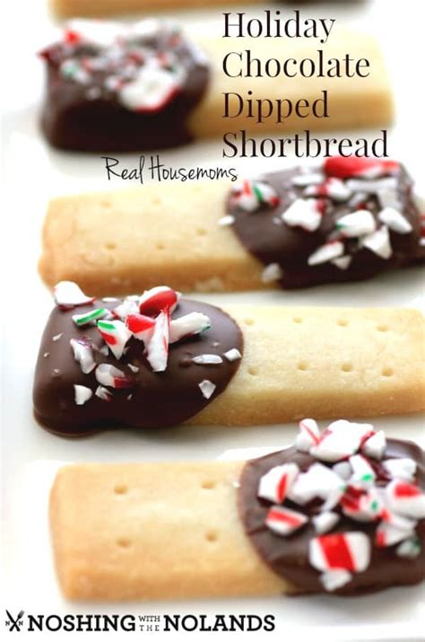 We love christmas, we love keto, and we love cookies. Holiday Chocolate Dipped Shortbread - Guest Post