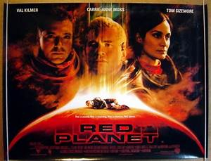 Red Planet - Original Cinema Movie Poster From pastposters ...
