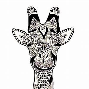 Tribal print giraffes. | body art | Pinterest - ClipArt ...
