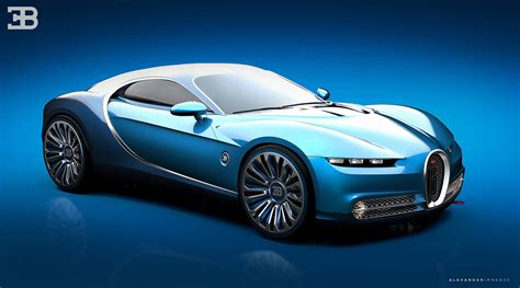concept bugatti bugatti vision gt concept reinvented at sleek coupe with