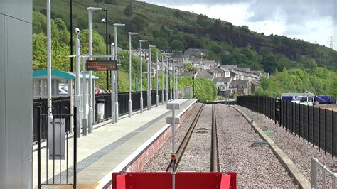 ebbw vale townnew station   youtube