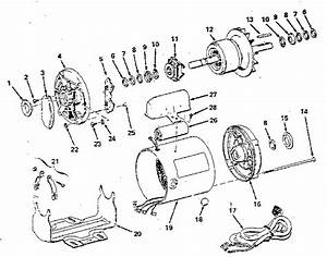 Craftsman 1  2 Hp Ac Motor Parts