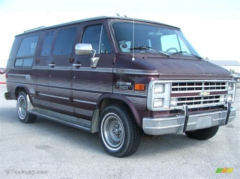 Browns Chevrolet by 1990 Brown Chevrolet Chevy G20 Passenger Conversion
