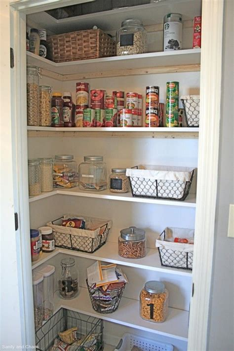 Small Pantry Closet Ideas Customize Your Own Pantry Makeover In A Small Closet